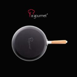 Chảo thép carbon La gourmet 28 cm cạn